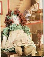 PROFESSORA KATYA BARROS: Boneca de Pano com Moldes