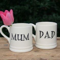 Personalised MUM & DAD mug