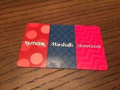 #Coupons #GiftCards Homesgoods, TJ Maxx and Marshalls gift card $250 #Coupons #GiftCards