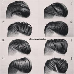 """2,394 Likes, 41 Comments - MENS HAIR STYLES & BEARDS (@menshairworld) on Instagram: """"@alireza.as.barber - Which one is your favourite?! Tag A Friend➡Comment…"""""""