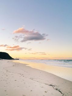 Palm Beach sunset, Gold Coast, Australia.