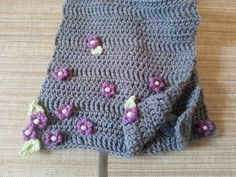 Handmade w ♥ Crochet Spring Scarf W Beaded Flowers by Lady Lynelle at Etsy! Come on by and see what we have for YOU!!#Springshopping #Ladylynelle#Musthaves #Handmadecrochet#ilovecrochet