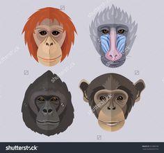 Monkey mask thingys... ?