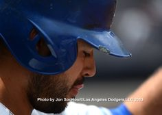 Up close picture of my boy, Andre Ethier