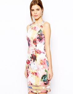 Warehouse Rose Printed Shift Dress, this is what i call a perfect dress