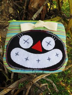 Small zipper pouch / Coin purse / Small bag funny by DooDesign, $6.99