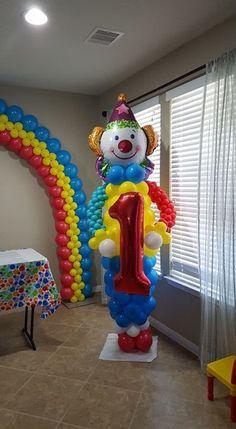 Carnival Farm Themed Party, Carnival Themed Party, Carnival Birthday Parties, First Birthday Parties, Birthday Party Themes, Circus Party, Carnival Decorations, Carnival Themes, Balloon Decorations Party