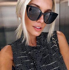 7c836a9d6ac96 99 melhores imagens de Maluca por óculos   Sunglasses, Fashion eye ...