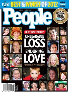 People Magazine covers Newtown -