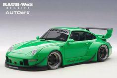 Model cars On sale! Porsche Motorsport, Porsche 993, Rauh Welt, Cars For Sale, Japan, Miniatures, Green, Toys, Gaming