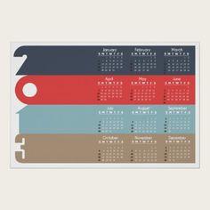 Calendar 2013 print