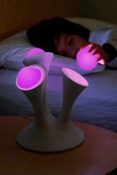 Night lights with detachable glow balls for when you go to the bathroom in the dark.
