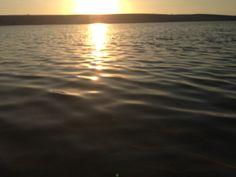 O sol nos lagos dos lençóis