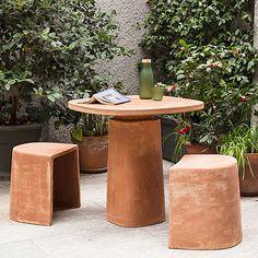 Gioi Garden Table by Mario Scairato for Internoitaliano for sale at Pamono Garden Stand, Garden Table, Garden Chairs, Vintage Gardening, Fairy Gardening, Copper Planters, Cement Garden, Garden Online, Pattern And Decoration