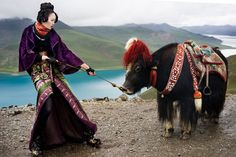 'Seven Days in Tibet' series by Nicoline Patricia Malina, 2010 for the Harper's Bazaar Indonesia