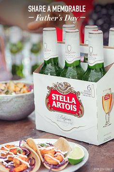 Simply put, our dads are very special to us. This year, get the family together and share a memorable Father's Day with Dad over a six-pack of Stella Artois.
