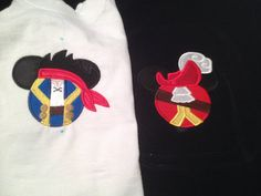 Jake & the Neverland Pirate Mickey ears Head by HCKCreations