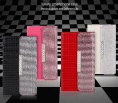 ROSEE LUXURY CLUTCH SQUARE PATTERN SMARTPHONE WALLET CASE FOR LG G3