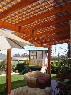 1000 images about techos on pinterest pergolas lima - Diseno de pergolas de madera ...