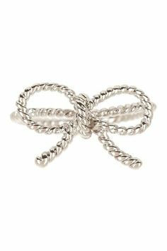 Forget-Me-Not Bow Ring