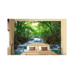 Ταπετσαρία τοίχου φωτογραφική, Deep forest waterfalls ΙΙ. Προσαρμόστε την στις δικές σας διαστάσεις online. Φωτοταπετσαρία στην καλύτερη τιμή. Αυτοκόλλητη υφασμάτινη ταπετσαρία ή χάρτινη ταπετσαρία Forest Waterfall, Outdoor Furniture Sets, Outdoor Decor, Sun Lounger, Home Decor, Chaise Longue, Decoration Home, Room Decor, Home Interior Design