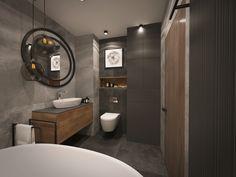Attic Rooms, Bathroom Lighting, Bathtub, Mirror, Furniture, Home Decor, Bathroom Light Fittings, Standing Bath, Bathroom Vanity Lighting