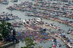 Lake Travis, just west of Austin provides a variety of activities for water loves, including Aquapalooza pictured here. http://www.laketravis.com Moving to the Austin area? Allow us to find your new home- www.relogroup.com