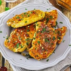 Busy night? Then you need these delicious, flavor-packed Curried Mango Pork Chops on your dinner table!