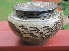 Designed Jar by Charles Smith
