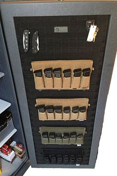 Genial MOLLE Gun Safe Door Panel Organizer