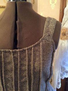 Krista larson wool venetian cami (detail)