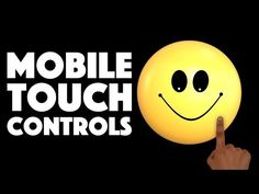 Mobile Touch Buttons In Unity - YouTube