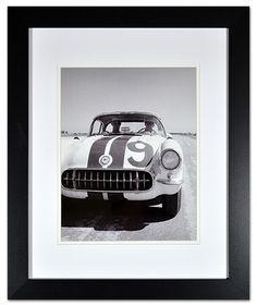 C1 Corvette Historical Framed Print