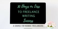 Freelance Writing Course Giveaway