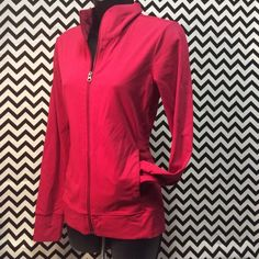 Tuff athletics hot pink zip up sweater Size medium in mint condition Tuff athletics  Jackets & Coats