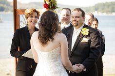 Matt and Lisa, married at Alderbrook Resort, June 2015.  Officiant:  Annemarie Juhlian