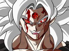 Goku by ChronoFz on DeviantArt Saga Dragon Ball, Dragon Ball Image, Goku Ssj6, Goku Af, Evil Goku, Zamasu Black, Goku Wallpaper, Hero Poster, Beautiful Fantasy Art