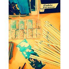 #theocharakisfoundation #artshop #gifts #giftshop #pablopicasso #picasso #art #magneticbookmarks #pencils #fridgemagnets #patent #stationary #greekmuseums #mywork #madeingreece #prepack #prepackart