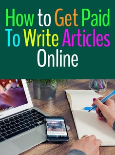 how to get paid to write articles online Make 100 A Day, Way To Make Money, How To Get, Home Based Jobs, Work From Home Jobs, Online Earning, Earn Money Online, Earning Money, Real Online Jobs
