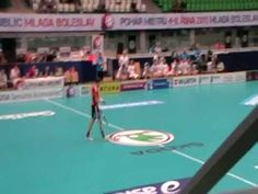 The world class floorball player Mika Kohonen from Finland - takes a penalty in Champions cup 2011. I mean Mika is the best!!