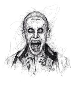Jared leto Joker Ilustração!