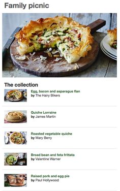 Bbc food collections healthy packed lunch ideas some family picnics made easy with these food recipes from bbc food forumfinder Choice Image
