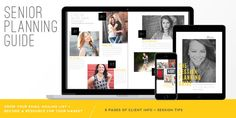 The Senior Session Planning Guide // turn your website visitors into clients