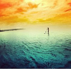 Stand up paddle boarding.#sup #paddleboard  http://greenwatersports.com