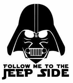 Jeep side Decal
