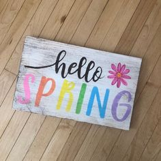 Check out our spring sign selection for the very best in unique or custom, handmade pieces from our shops. Woodworking Joints, Woodworking Workshop, Custom Woodworking, Woodworking Crafts, Grizzly Woodworking, Woodworking Workbench, Woodworking Techniques, Woodworking Furniture, Hobbies And Crafts