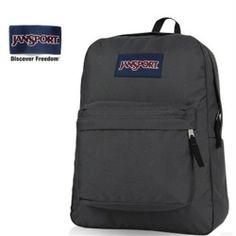 JanSport Forge Grey Pure Color Backpack - Jansport backpack-Campaign Categories - TopBuy.com.au