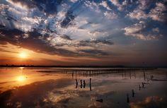 Lake Pomorie, Bulgaria by Slavin@, via Flickr