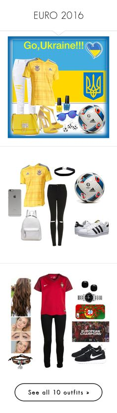 """EURO 2016"" by natalyasidunova ❤ liked on Polyvore featuring adidas, OPI, Le Specs, DB Designs, Dolce&Gabbana, Topshop, adidas Originals, Incase, Miss Selfridge and Bling Jewelry"