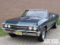 Hot Rod First Cars 1967 Chevy Chevelle